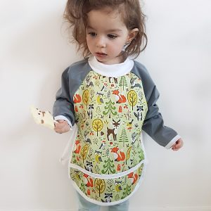 Sleeved bib