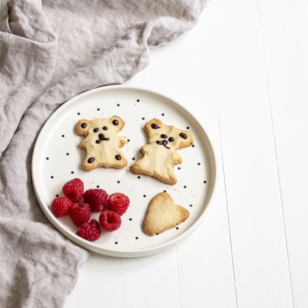 Petits oursons au beurre & au chocolat